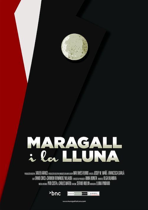 Cartell de Maragall i la Lluna